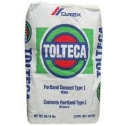 Cemento BLANCO Tolteca - - - saco de 50Kg