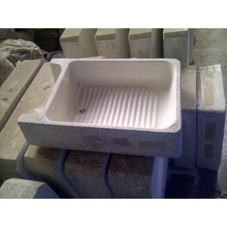 Lavadero granito economico sin pileta pieza for Lavadero de bano precio