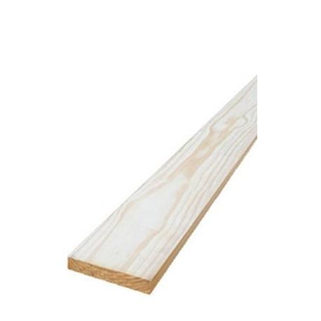 Tabla Regla de madera de Pino 3/4 X 10 2a - Pza
