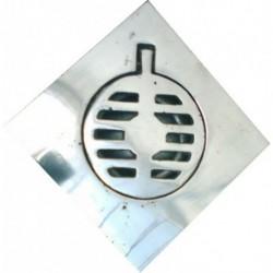 Coladera Rejilla Aluminio 10 X 10 Cm - - - Pieza