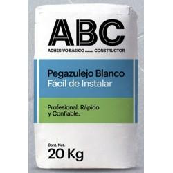 Pegazulejo ABC Blanco