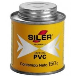 Pegamento Cemento SILER PVC - - - 150 GRs