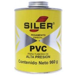 Pegamento Cemento SILER PVC - - - 960 GR
