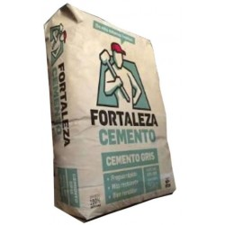 Cemento Gris La Fortaleza -- Saco 50 Kgs