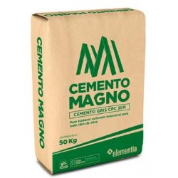 Cemento GRIS Magno -- 50 Kgs