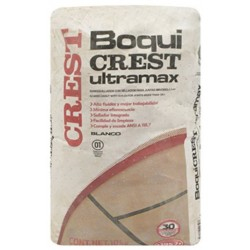 CREST Boquicrest Ultramax BLANCO - - - Saco de 10kg