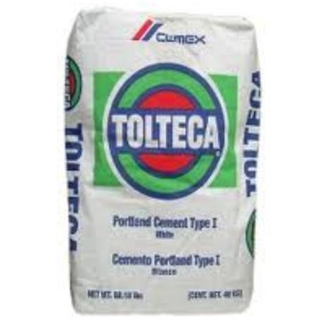 Cemento BLANCO Tolteca - - - saco de 25Kg