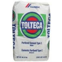 Cemento BLANCO Tolteca - - - Ton (Saco de 50Kg)