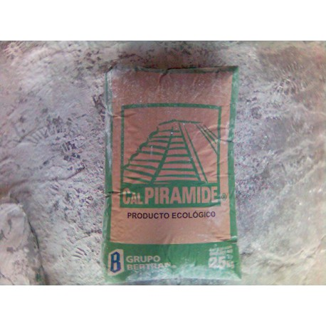 Cal Calhidra Piramide - - - saco de 25kg.
