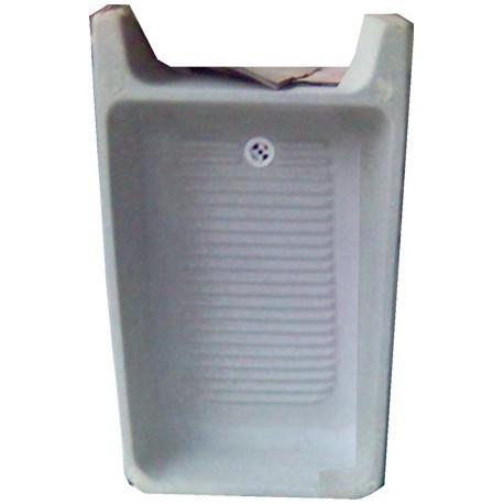 Lavadero de cemento standard sin pileta pieza for Lavadero de bano precio