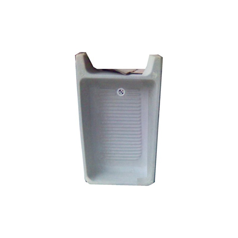 Lavadero de cemento standard sin pileta pieza for Costo de piletas de material