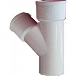 Yee PVC Hidráulico 75 X 75 mm - - - Pieza