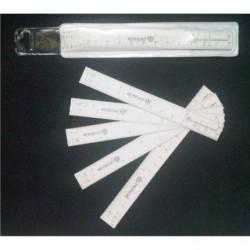Escalimetro de Abanico - - - Paquete con 10 Pzas